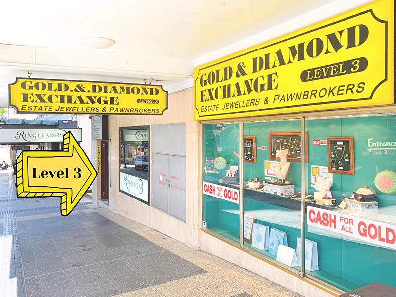 Location of Gold & Diamond Exchange